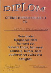 Optimistprisen 2009